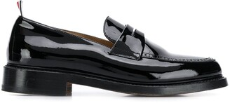 Thom Browne Patent Penny Loafers