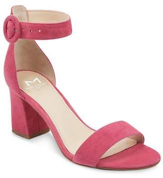 Marc Fisher Women's Karlee Suede Block Heel Sandals