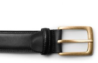 Bosca Amalfi Leather Belt
