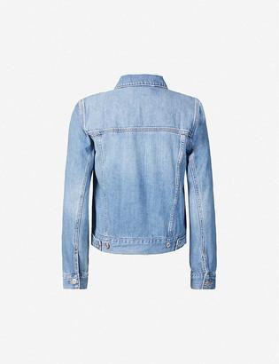Paige Rowan cotton-blend denim jacket