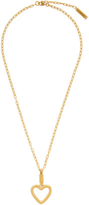 Ambush Gold Heart Necklace