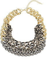 Topshop Chain and Thread Collar