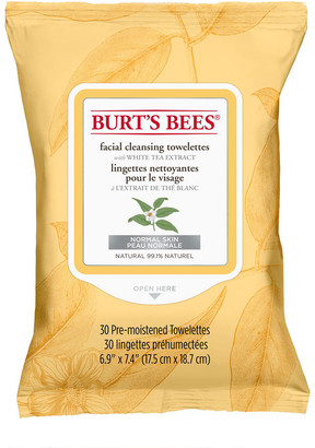 Burt's Bees White Tea Facial Cleansing Towelettes 30 Pack