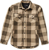 Hurley Clancy Long-Sleeve Plaid Flannel Shirt