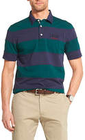 Izod Mens Short Sleeve Rugby Shirt Big and Tall