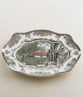 Johnson Bros. Friendly Village 11.5in Bless This House Tray