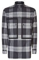 Helmut Lang Checked Patch Pocket Shirt