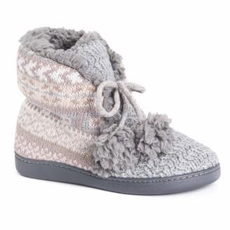 Muk Luks Women's Lulu Bootie Slippers