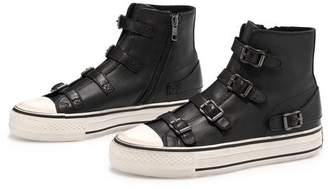 Ash Virgin Buckle Trainers In Black - 37