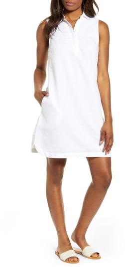 58dceaa467 White Shift Dress - ShopStyle