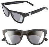 Westward Leaning Women's Pioneer 53Mm Sunglasses - Black Matte/ Silver