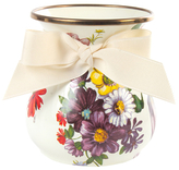 Mackenzie Childs Flower Market Short Vase