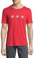 John Varvatos Three-Star Graphic Short-Sleeve T-Shirt, Brick Red
