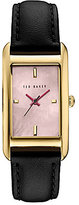 Ted Baker Tara Mother-of-Pearl Analog Leather-Strap Watch