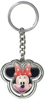 Monogram Minnie Mouse Spinner Key Ring