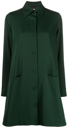Societe Anonyme Single-Breasted Shirt-Coat