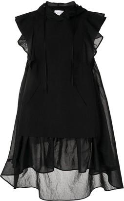 Shanshan Ruan Ruffle Trimmed Dress