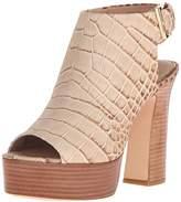 Rachel Zoe Women's Harper Peep-Toe Platform Heel,7 M US