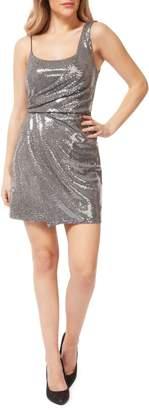 Dex Sequin-Embellished Mini Dress