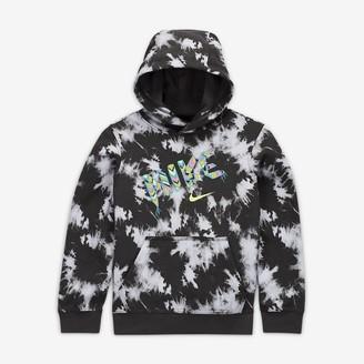 Nike Big Kids' (Boys') Pullover Hoodie Sportswear Club Fleece