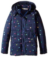 Stella McCartney Hollie Star Print Jacket Girl's Coat
