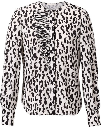 Jason Wu Collection Leopard Print Blouse