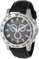 Nautica Men's NST 600 N19595G Polyurethane Quartz Watch
