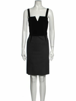 Narciso Rodriguez Wool Knee-Length Dress Wool