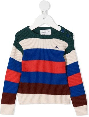 Bobo Choses Colour-Block Knit Jumper