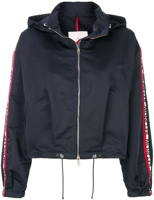 Moncler Cropped Zip Jacket