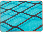 Ella Doran Black Rope on Blue Placemat