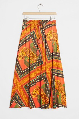 Farm Rio Tigress Maxi Skirt