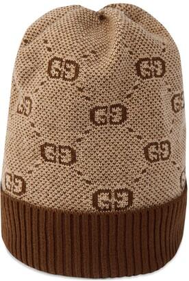 Gucci Kids GG knit beanie