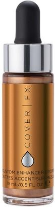 COVER FX Custom Enhancer Drops 15Ml Candlelight (Shimmering Golden Bronze)