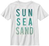Fifth Sun White 'Sun Sea Sand' Tee - Boys