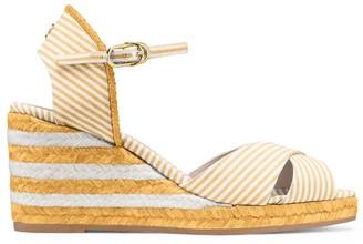 Stuart Weitzman The Mirela Stripes Sandal