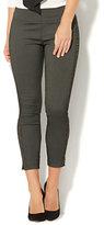 New York & Co. 7th Avenue Pant - Legging - Pull-On Ankle - Stripe