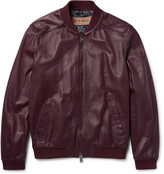 Etro - Nappa Leather Bomber Jacket