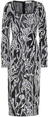 Givenchy Iris jacquard midi dress