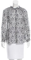 Rebecca Minkoff Long Sleeve Button-Up Top
