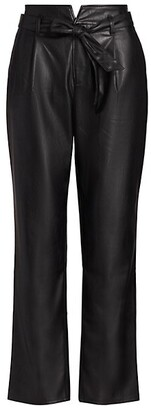 Paige Melila Faux Leather Pants