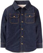 Crazy 8 Jean Sherpa Shirt Jacket