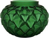 Lalique Languedoc Vase - Green - Medium