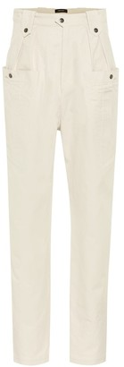 Isabel Marant Yerris high-rise straight pants