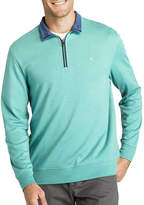 Izod Hampton Interlock Quarter-Zip Pullover