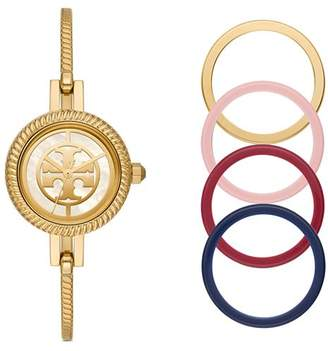 Tory Burch The Reva Bangle Bracelet Watch Gift Set, 27mm