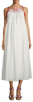 Antik Batik Raji Cotton Embroidered Maxi Dress