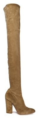 Sergio Rossi Over-the-knee Suede Boots