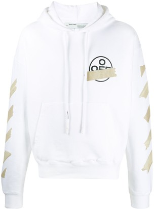 Off-White Tape Arrows print hoodie