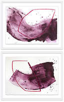 """One Kings Lane One & Two Diptych - Linda Colletta - 27.5""""L x 36""""W x 2""""D Art"""